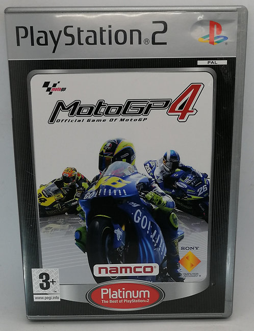 MotoGP 4 for Sony PlayStation 2 PS2