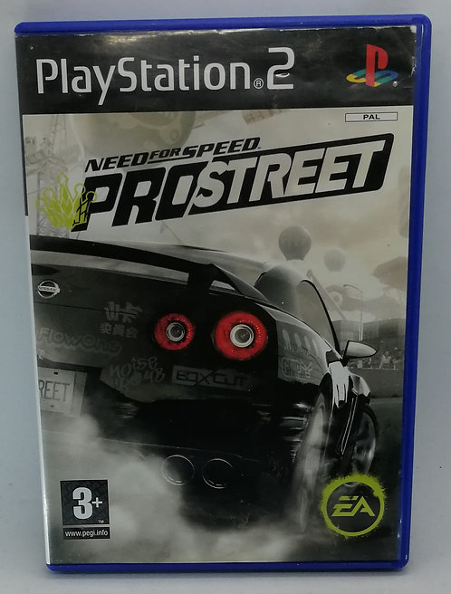 Need for Speed: ProStreet for Sony PlayStation 2 PS2