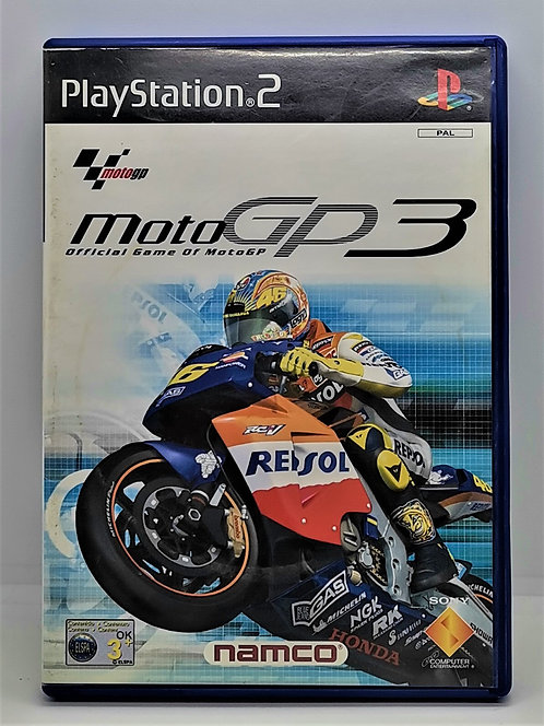 MotoGP 3 for Sony PlayStation 2 PS2