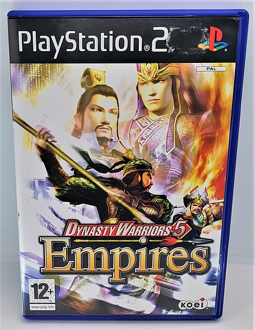 Dynasty Warriors 5: Empires for Sony PlayStation 2 PS2