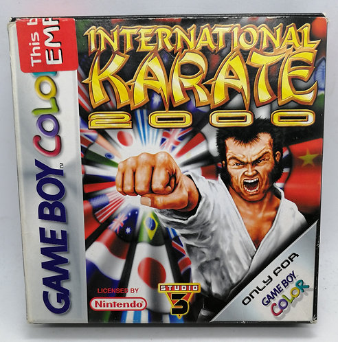 International Karate 2000 for Nintendo Game Boy Color