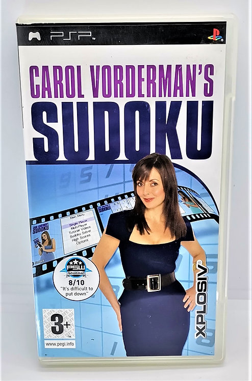 Carol Vorderman's Sudoku for Sony PlayStation Portable PSP