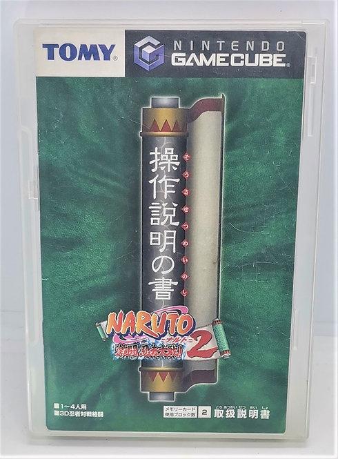 Naruto Shippuden: Gekito Ninja Taisen! 2 for Nintendo GameCube