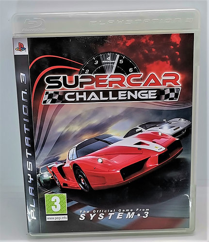 Supercar Challenge for Sony PlayStation 3 PS3