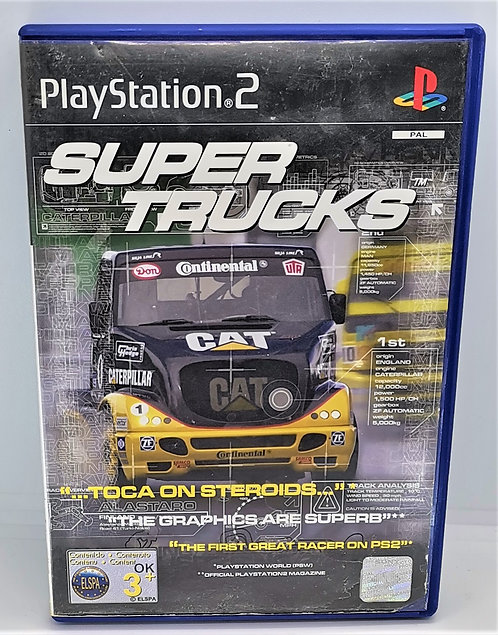 Super Trucks for Sony PlayStation 2 PS2