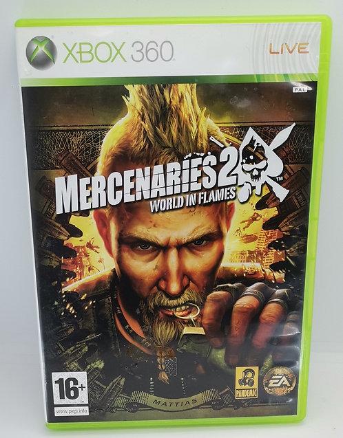 Mercenaries 2: World in Flames for Microsoft Xbox 360
