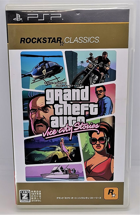 Grand Theft Auto: Vice City Stories for Sony PlayStation Portable PSP