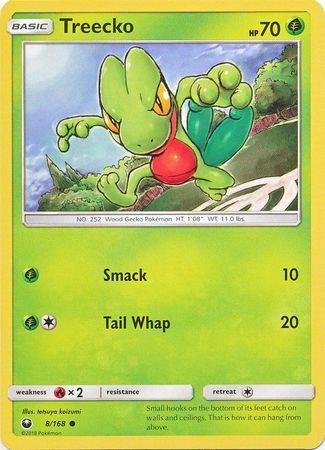 POKEMON Single Card SUN AND MOON - CELESTIAL STORM - 008/168 : Treecko