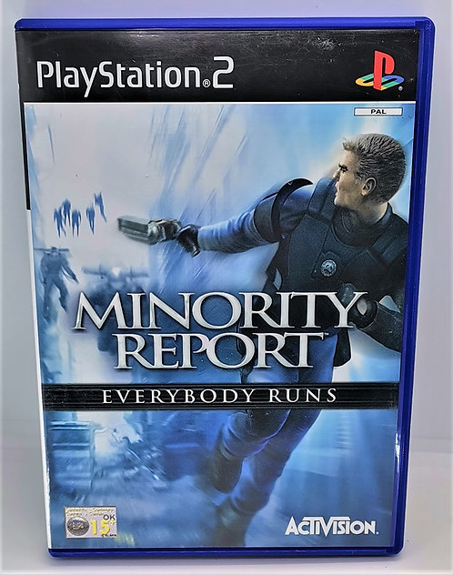 Minority Report: Everybody Runs for Sony PlayStation 2 PS2