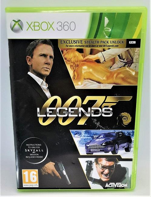 007: Legends for Microsoft Xbox 360