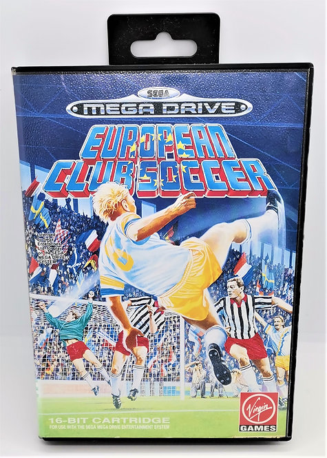 European Club Soccer for Sega Mega Drive
