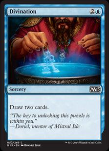 MAGIC THE GATHERING MAGIC 2015 Card - 052/269 : Divination