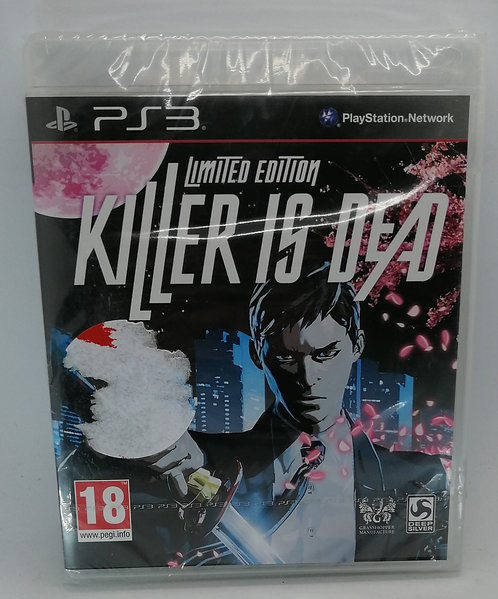 Killer Is Dead: Limited Edition for Sony PlayStation 3 PS3