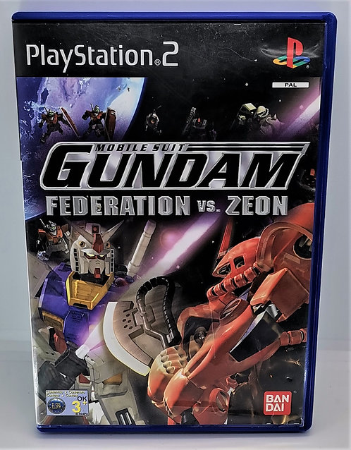 Mobile Suit Gundam: Federation vs. Zeon for Sony PlayStation 2 PS2