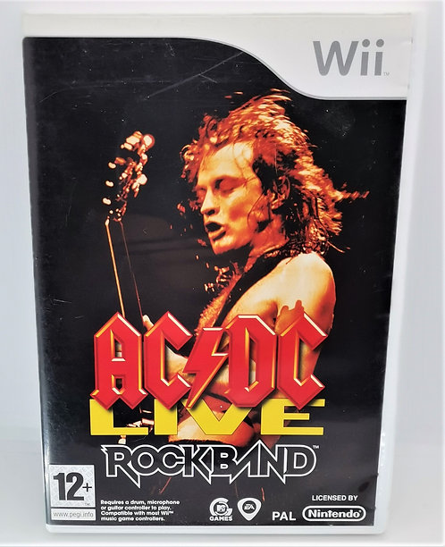 AC/DC Live: Rock Band for Nintendo Wii
