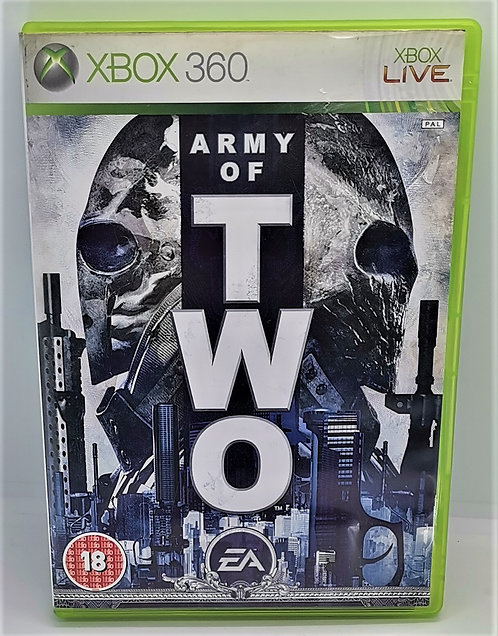 Army of Two for Microsoft Xbox 360