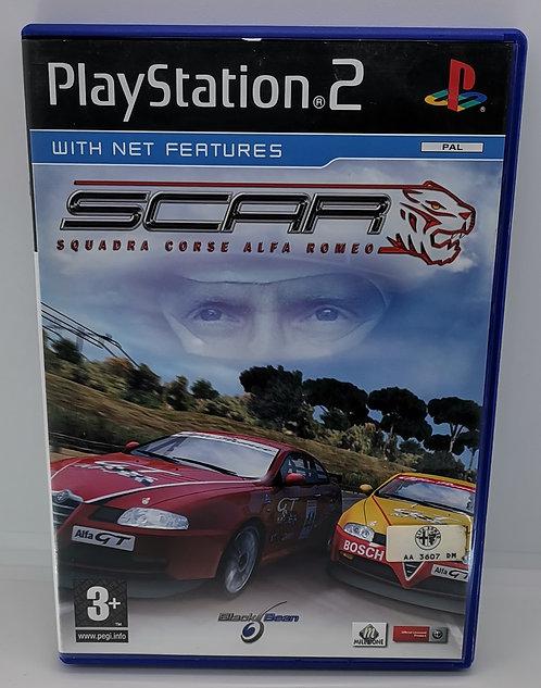SCAR - Squadra Corse Alfa Romeo for Sony PlayStation 2 PS2