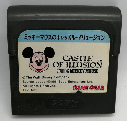 Castle of Illusion Starring Mickey Mouse for Sega Game Gear