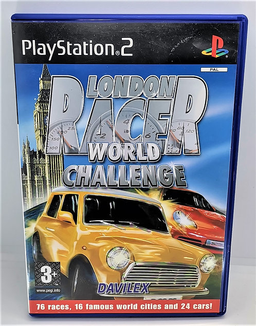 London Racer: World Challenge for Sony PlayStation 2 PS2