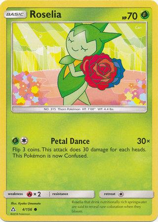 POKEMON Single Card SM - ULTRA PRISM - 004/156 : Roselia