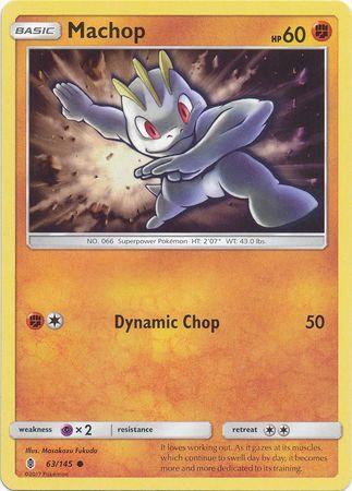 Pokemon Single Card SM - SUN & MOON : GUARDIANS RISING - 063/145 : Machop