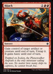 MAGIC THE GATHERING IXALAN Card - 148/289 : Hijack