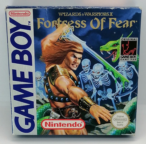 Wizards & Warriors X: The Fortress of Fear for Nintendo Game Boy