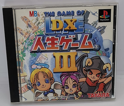 DX Jinsei Game III - The Game of Life for Sony PlayStation