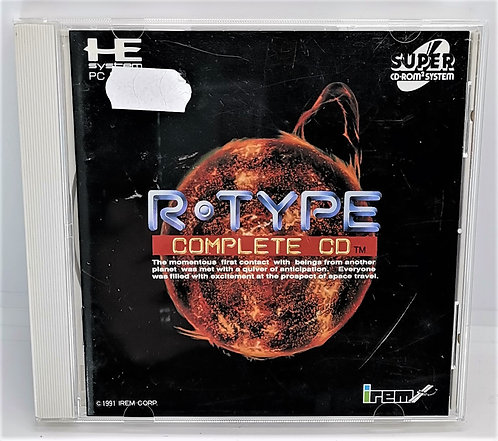 R-Type Complete CD for PC Engine Super CD-ROM²