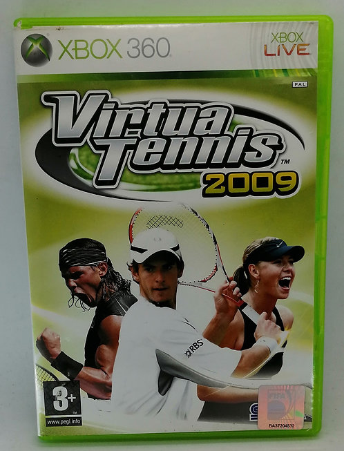 Virtua Tennis 2009 for Microsoft Xbox 360