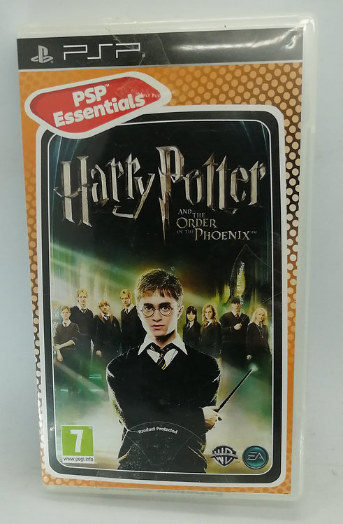Harry Potter and the Order of the Phoenix for Sony PlayStation Portable PSP