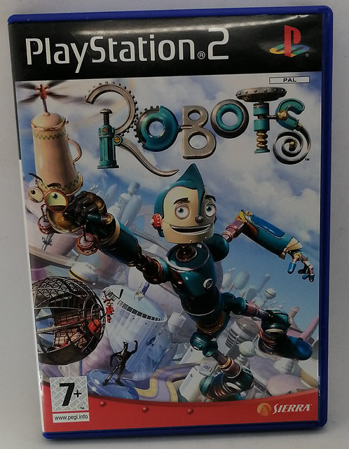 Robots for Sony PlayStation 2 PS2
