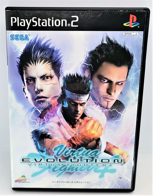 Virtua Fighter 4: Evolution for Sony PlayStation 2 PS2
