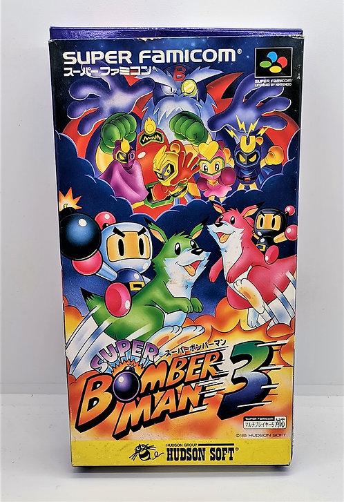 Super Bomberman 3 for Nintendo Super Famicom