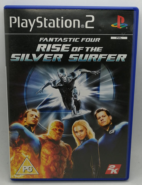 Fantastic Four: Rise of the Silver Surfer for Sony PlayStation 2 PS2