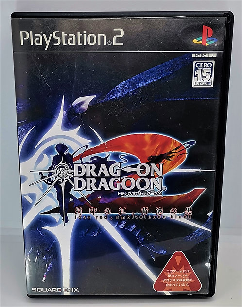 Drag-On Dragoon 2 (Drakengard 2) for Sony PlayStation 2 PS2