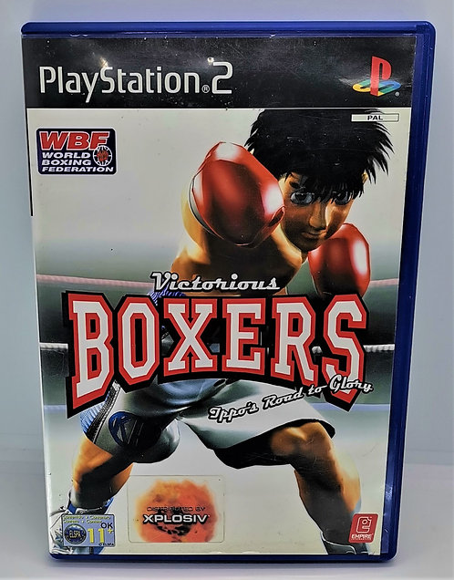 Victorious Boxers: Ippo's Road to Glory for Sony PlayStation 2 PS2