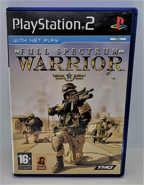 Full Spectrum Warrior for Sony PlayStation 2 PS2