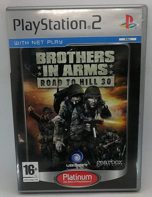 Brothers in Arms: Road to Hill 30 for Sony PlayStation 2 PS2