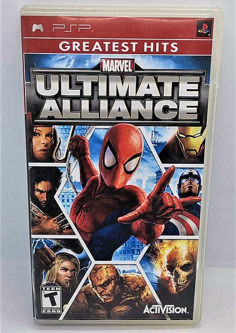 Marvel Ultimate Alliance for Sony PlayStation Portable PSP