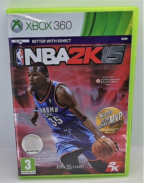 NBA 2K15 for Microsoft Xbox 360
