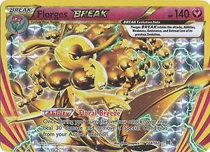 Pokemon Single Card XY - BREAKTHROUGH - 104/162 : Florges BREAK