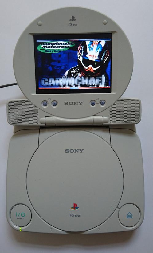 Sony Playstation PSOne Console & LCD Screen Bundle | Super Retro ...