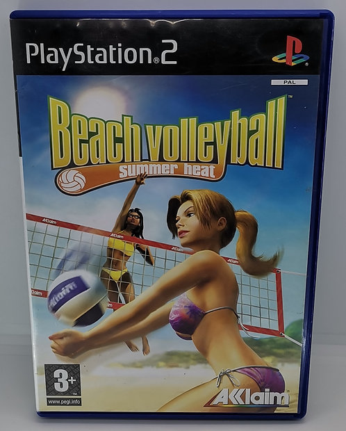 Summer Heat Beach Volleyball for Sony PlayStation 2 PS2