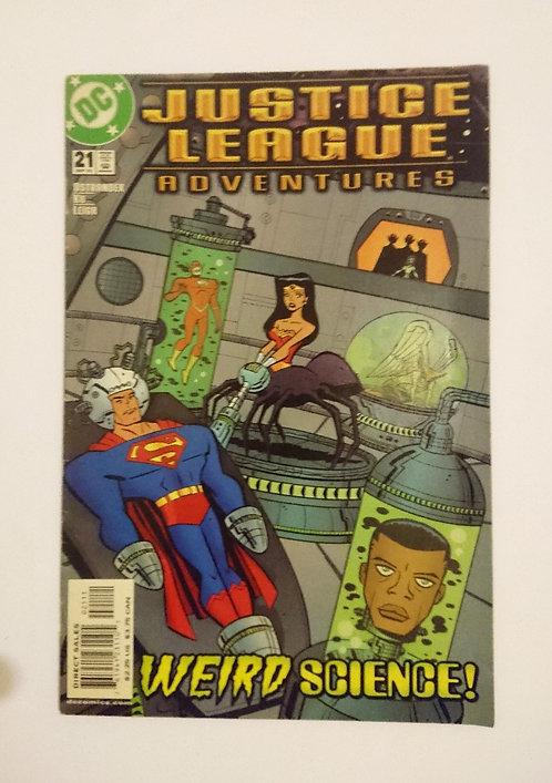 Justice League Adventures Vol 1 #21
