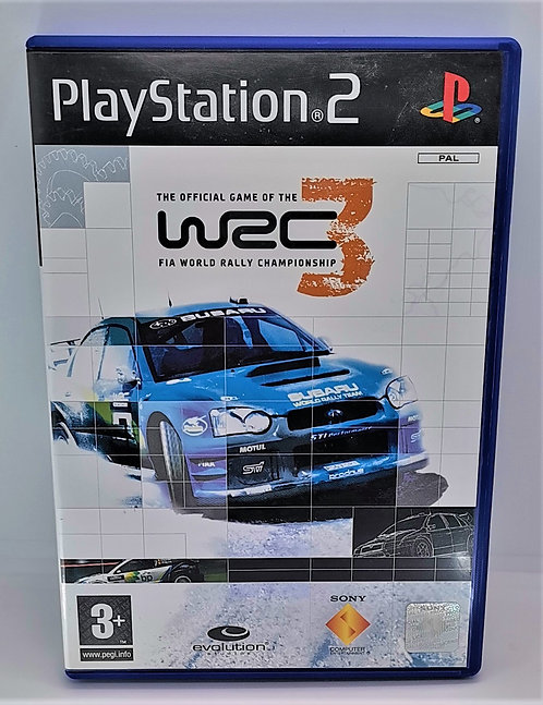 WRC 3 for Sony PlayStation 2 PS2