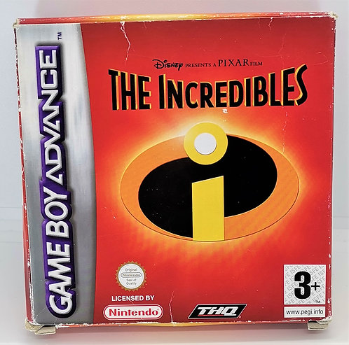 The Incredibles for Nintendo Game Boy Advance GBA