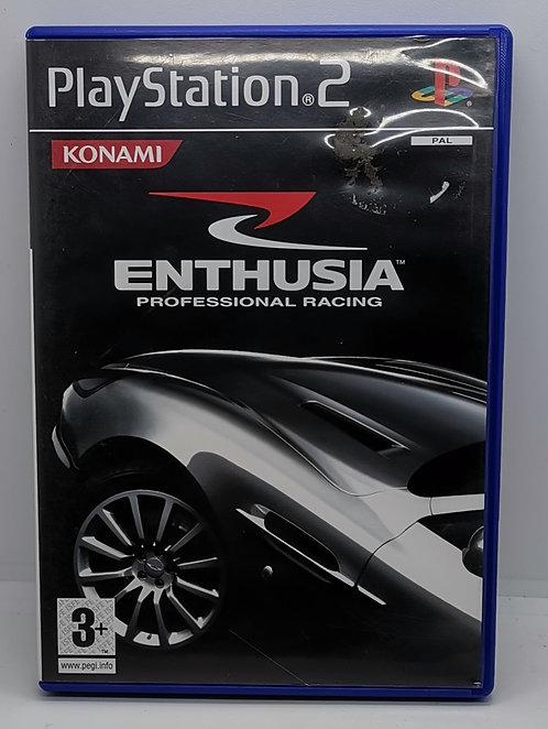 Enthusia: Professional Racing for Sony PlayStation 2 PS2
