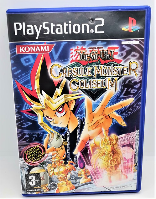 Yu-Gi-Oh!: Capsule Monster Coliseum for Sony PlayStation 2 PS2