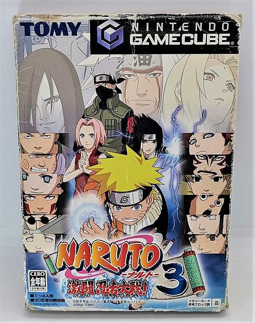 Naruto Gekitô Ninja Taisen! 3 for Nintendo GameCube